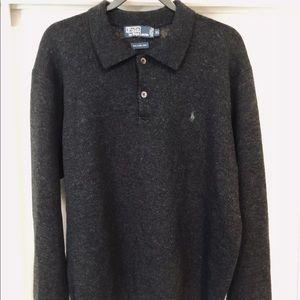 Polo-Ralph Lauren Lambs Wool Sweater Men's XL